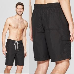 Men's Goodfellow Simple Swim Trunks / Board Shorts